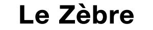 Pizzeria – Restaurant Le Zèbre Logo